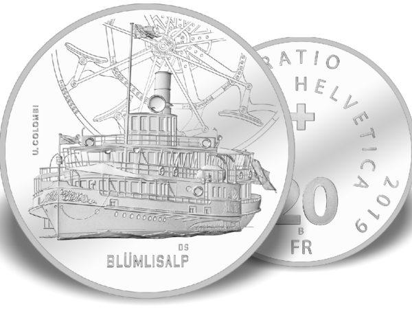 Dampfschiff Blümlisalp / Steamboat Blümlisalp
